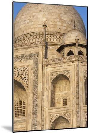 The Taj Mahal, a Mausoleum Built in Memory of Shah Jahan's Third Wife-Jonathan Irish-Mounted Photographic Print