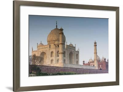 The Taj Mahal Seen from the Banks of the Yamuna River-Jonathan Irish-Framed Photographic Print