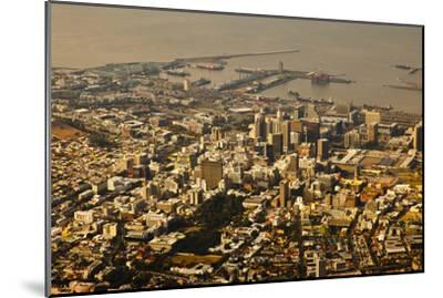 High Angle View of Cape Town-Ralph Lee Hopkins-Mounted Photographic Print