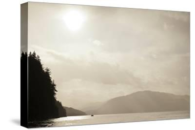 Sunrise Rays Above the Inian Islands-Ralph Lee Hopkins-Stretched Canvas Print