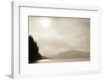 Sunrise Rays Above the Inian Islands-Ralph Lee Hopkins-Framed Photographic Print