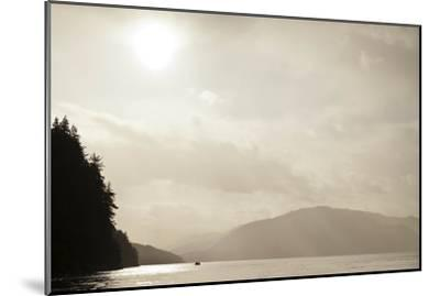 Sunrise Rays Above the Inian Islands-Ralph Lee Hopkins-Mounted Photographic Print