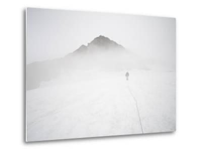 Sulphide Glacier, North Cascades National Park, Washington-Ethan Welty-Metal Print
