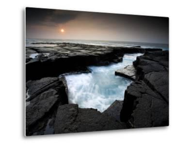 Lava Patterns in Hawaii-Ian Shive-Metal Print