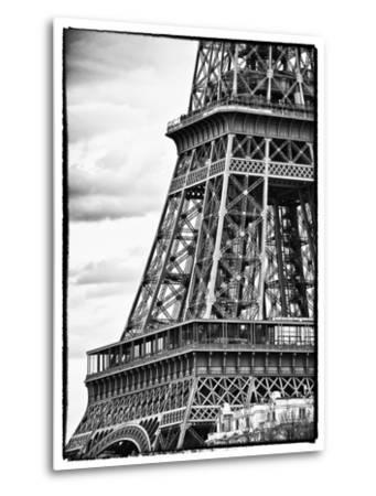 Detail of Eiffel Tower - Paris - France-Philippe Hugonnard-Metal Print