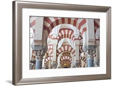 Catedral Mosque of Cordoba, Interior, Cordoba, Andalucia, Spain-Rob Tilley-Framed Photographic Print