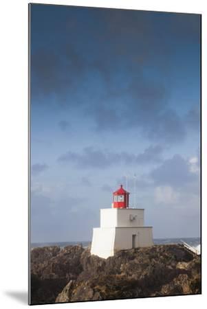Wild Pacific Trail, Amphitrite Lighthouse, Vancouver Island, British Columbia, Canada-Walter Bibikow-Mounted Photographic Print
