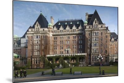 Fairmont Empress Hotel, Victoria, Vancouver Island, British Columbia, Canada-Walter Bibikow-Mounted Photographic Print