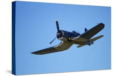 Goodyear Corsair FG-1D 'Whispering Death' Fighter Bomber-David Wall-Stretched Canvas Print