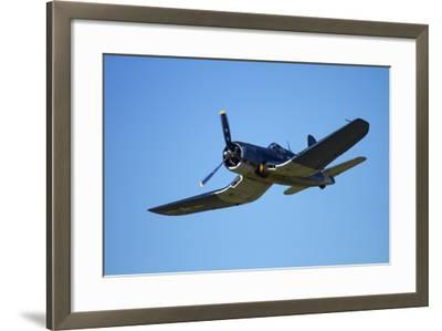 Goodyear Corsair FG-1D 'Whispering Death' Fighter Bomber-David Wall-Framed Photographic Print