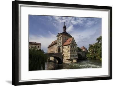 Old Town Hall, Altes Rathaus, Bamberg, Germany-Jim Engelbrecht-Framed Photographic Print