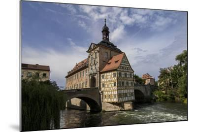 Old Town Hall, Altes Rathaus, Bamberg, Germany-Jim Engelbrecht-Mounted Photographic Print