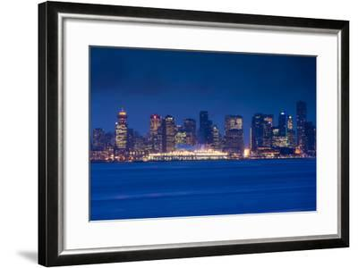 City View Form North Vancouver, British Columbia, Canada-Walter Bibikow-Framed Photographic Print