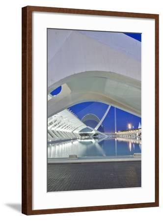 City of Arts and Sciences, Valencia, Spain-Rob Tilley-Framed Photographic Print