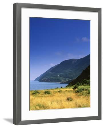 Cape Breton National Park, Cape Rouge, Cape Breton, Nova Scotia, Canada-Walter Bibikow-Framed Photographic Print