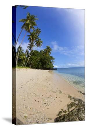 Prince Charles Beach, Taveuni, Fiji-Douglas Peebles-Stretched Canvas Print
