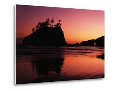 View of Second Beach, Olympic National Park, Washington State, USA-Stuart Westmorland-Metal Print