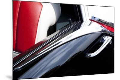 Detail at Classic Car Show, Kirkland, Washington, USA-John & Lisa Merrill-Mounted Photographic Print