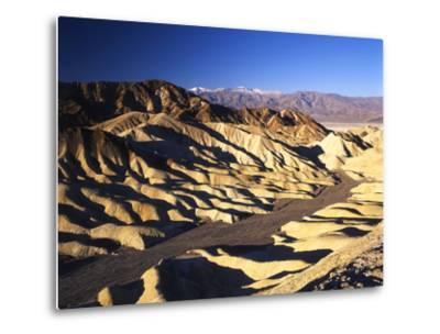 Telescope Peak in Mojave Desert, Death Valley National Park, Zabriskie Point, California, USA-Adam Jones-Metal Print