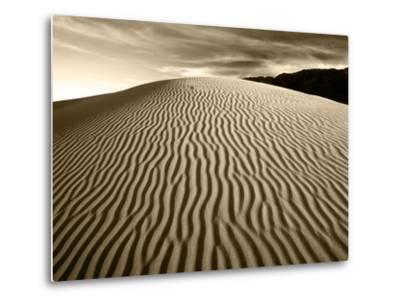 Mojave Desert Sand Dunes, Death Valley National Park, California, USA-Adam Jones-Metal Print