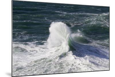 Wind Driven Ocean Waves, Cape Kiwanda, Oregon, USA-Jamie & Judy Wild-Mounted Photographic Print