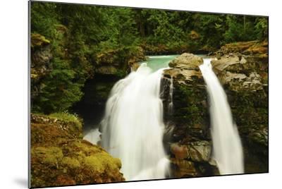 Hooksack Waterfalls, Mount Baker-Snoqualmie National Forest, Washington, USA-Michel Hersen-Mounted Photographic Print