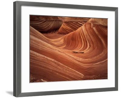 Wave, Coyote Buttes Area, Vermilion Cliffs Wilderness Area, Paria Canyon, Arizona, USA-Adam Jones-Framed Photographic Print