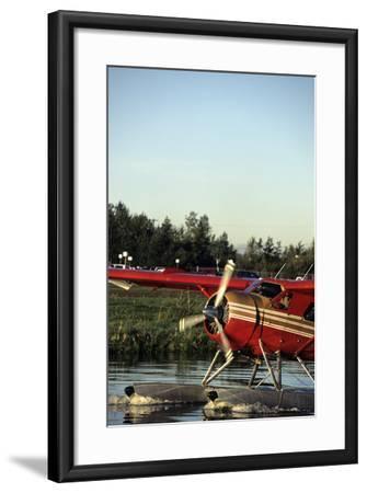 Float Plane, Anchorage, Alaska, USA Photographic Print by Gerry Reynolds    Art com