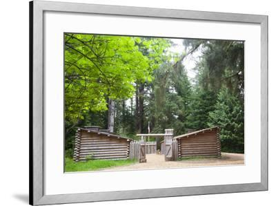 Fort Clatsop, Lewis and Clark National Historic Park, Oregon, USA-Jamie & Judy Wild-Framed Photographic Print