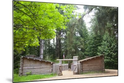 Fort Clatsop, Lewis and Clark National Historic Park, Oregon, USA-Jamie & Judy Wild-Mounted Photographic Print