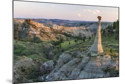 Badlands Rock Formation, Missouri River Breaks National Monument, Montana, USA-Chuck Haney-Mounted Photographic Print
