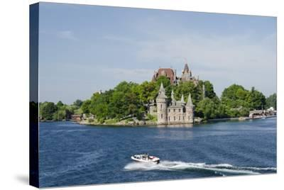 Boldt Castle, 'American Narrows', St. Lawrence Seaway, Thousand Islands, New York, USA-Cindy Miller Hopkins-Stretched Canvas Print