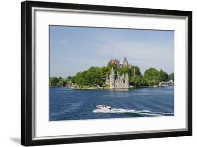 Boldt Castle, 'American Narrows', St. Lawrence Seaway, Thousand Islands, New York, USA-Cindy Miller Hopkins-Framed Photographic Print