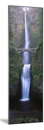 View of Multnomah Falls in Columbia Gorge, Oregon, USA-Walter Bibikow-Mounted Premium Photographic Print