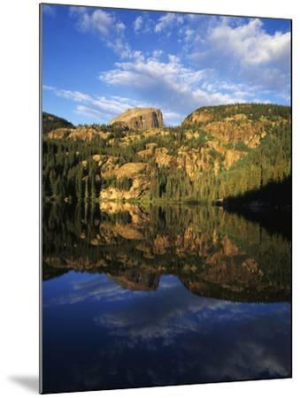 Hallett Peak in Bear Lake, Rocky Mountains National Park, Colorado, USA-Adam Jones-Mounted Photographic Print