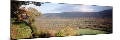 Autumn View from Hildene, Manchester, Vermont, USA-Walter Bibikow-Mounted Premium Photographic Print