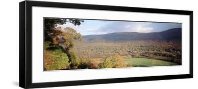 Autumn View from Hildene, Manchester, Vermont, USA-Walter Bibikow-Framed Photographic Print