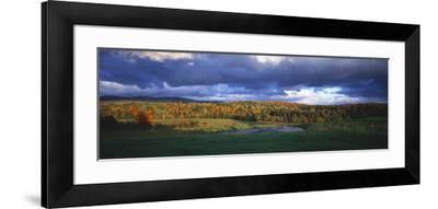 Eden, View of Field, Northeast Kingdom, Vermont, USA-Walter Bibikow-Framed Photographic Print