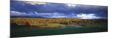 Eden, View of Field, Northeast Kingdom, Vermont, USA-Walter Bibikow-Mounted Photographic Print