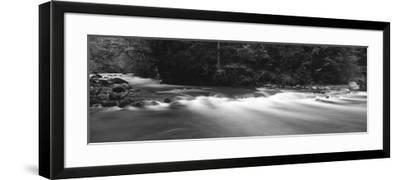 Waterfall Along Big Quilcene River, Olympic National Park, Washington State, USA-Paul Souders-Framed Photographic Print