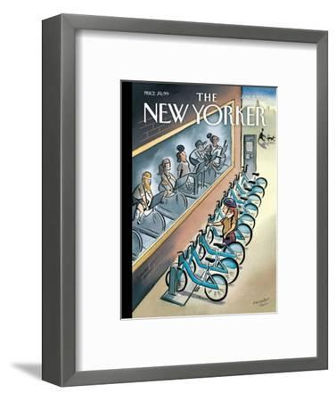 The New Yorker Cover - June 3, 2013-Marcellus Hall-Framed Premium Giclee Print