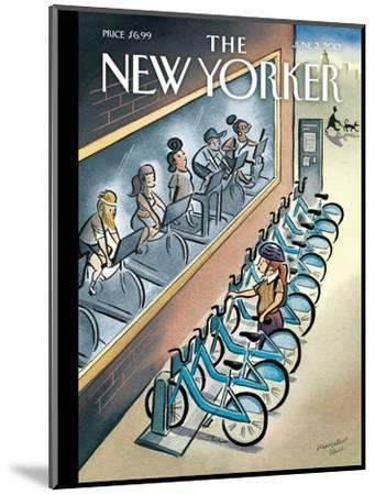 The New Yorker Cover - June 3, 2013-Marcellus Hall-Mounted Premium Giclee Print