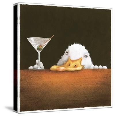The Bar Bill-Will Bullas-Stretched Canvas Print