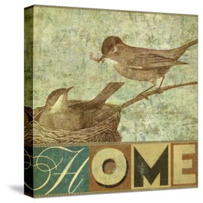 Home-Stella Bradley-Stretched Canvas Print