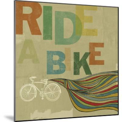 Bikes 2-Stella Bradley-Mounted Premium Giclee Print