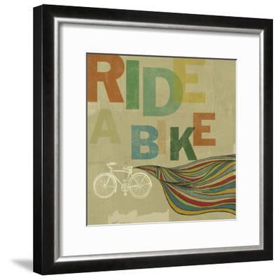 Bikes 2-Stella Bradley-Framed Premium Giclee Print