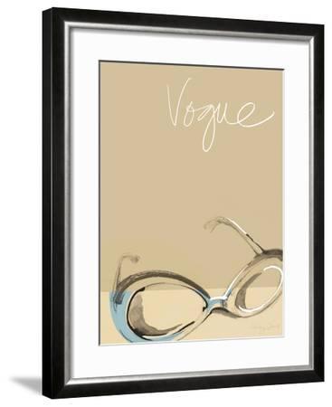Vogue-Ashley David-Framed Premium Giclee Print