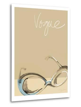Vogue-Ashley David-Metal Print