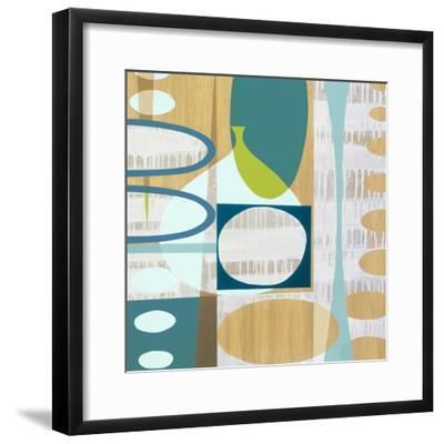 Ocean and Sand 3-Mary Calkins-Framed Premium Giclee Print