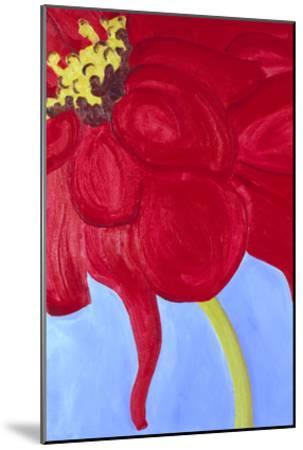 Red Zinnia-Soraya Chemaly-Mounted Premium Giclee Print